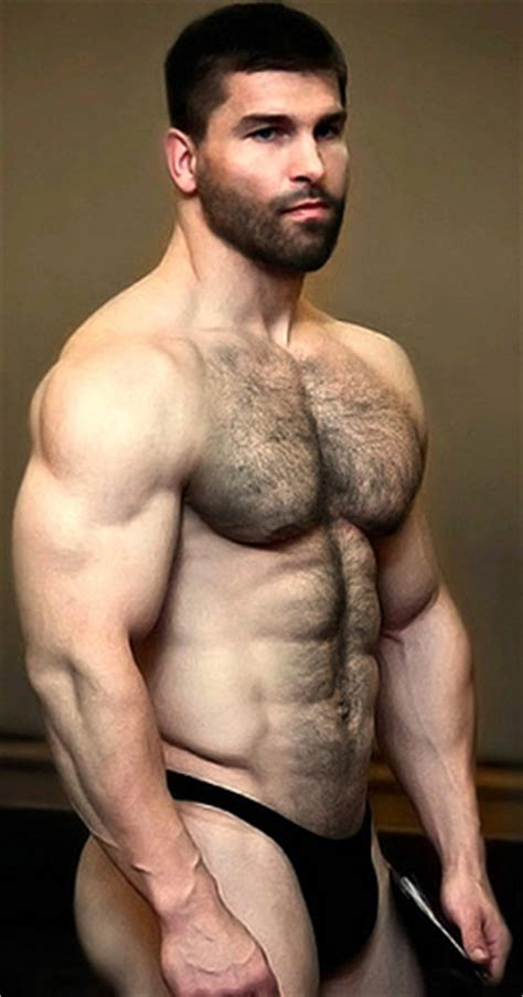 beefy hairy men picture 10