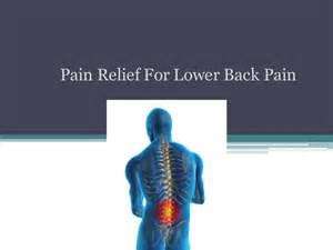 relief for lower back pain picture 5