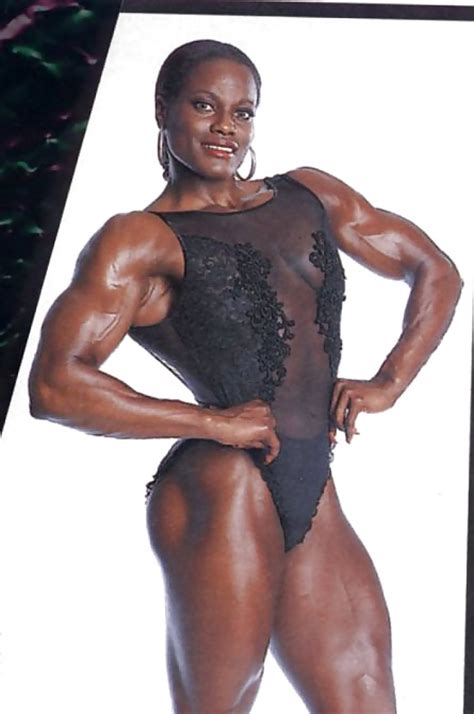 black female muscle 2 picture 5
