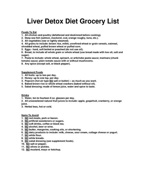 free liver cleansing diet picture 1