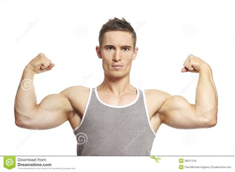 flexing muscles picture 7