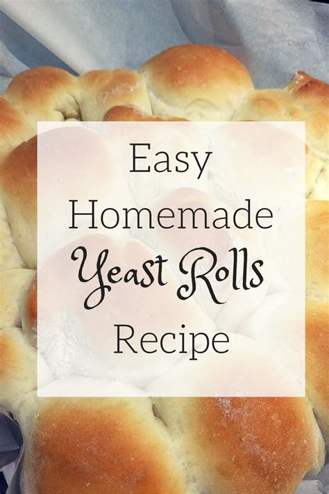 easy yeast roll recipe picture 3