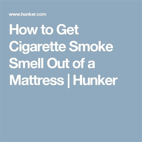 how to get cigarette smoke smell out of picture 1