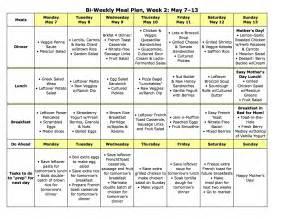 diet meal menus picture 13