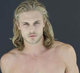blonde hair model men picture 9