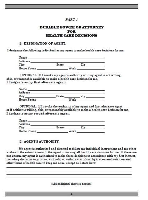 joint power of attorney form arizona picture 1
