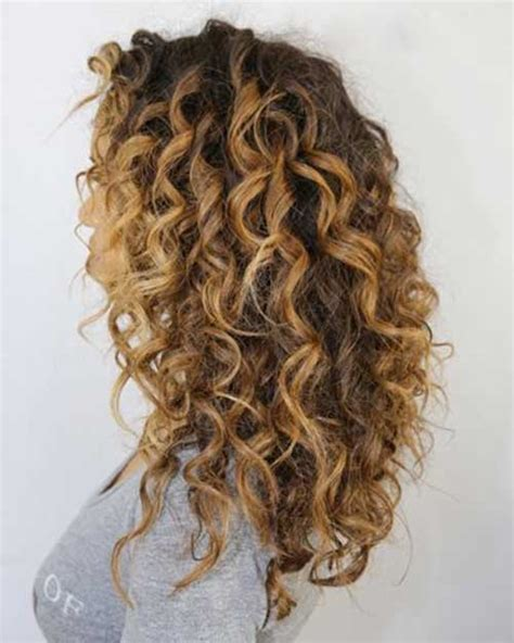 curly hair highlights picture 3