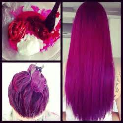 buy purple and pink hair dye picture 1