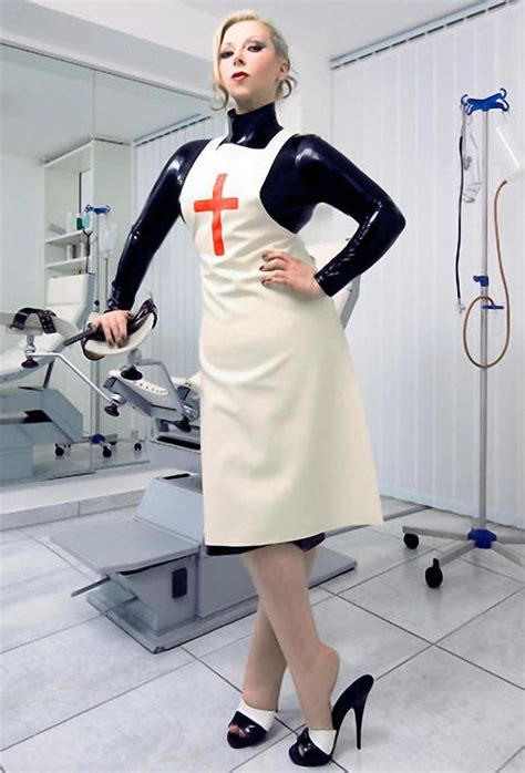 hot evil women doctors with latex gloves picture 2