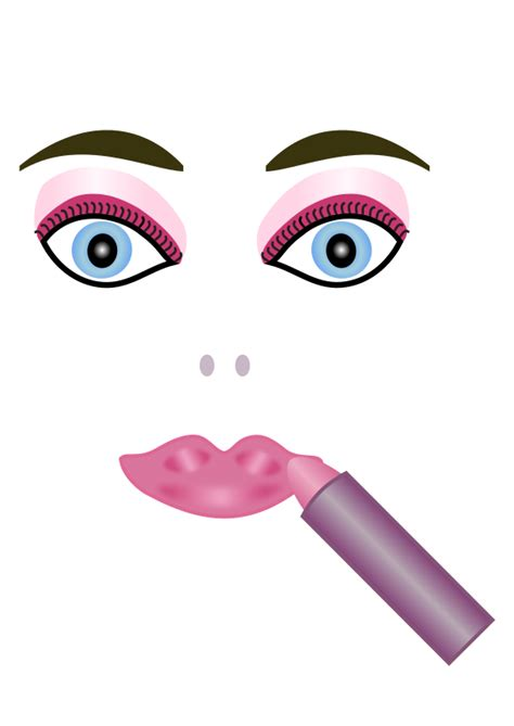 Eyes lips face cosmetics picture 1