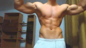 muscle flexing worship picture 2