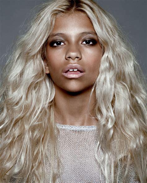 aboriginal blonde hair picture 1