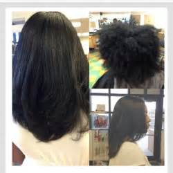 black hair flat iron picture 7