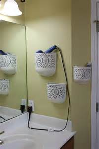 hair dryer holder wall mount picture 13