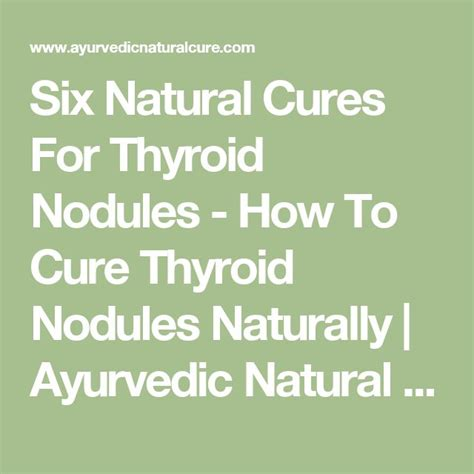 ayurvedic treatment for thyroid nodules picture 1