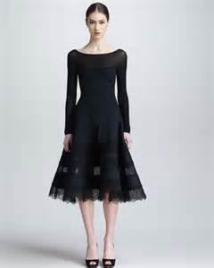 donna karan black sleep gown picture 7