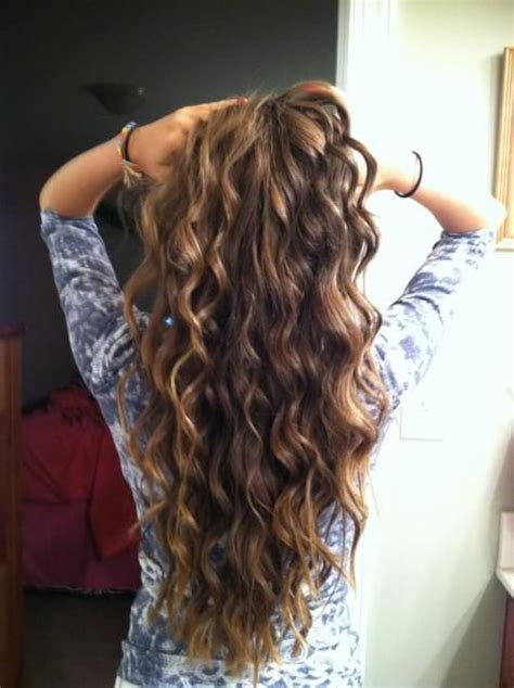 wave curl hair styles picture 14
