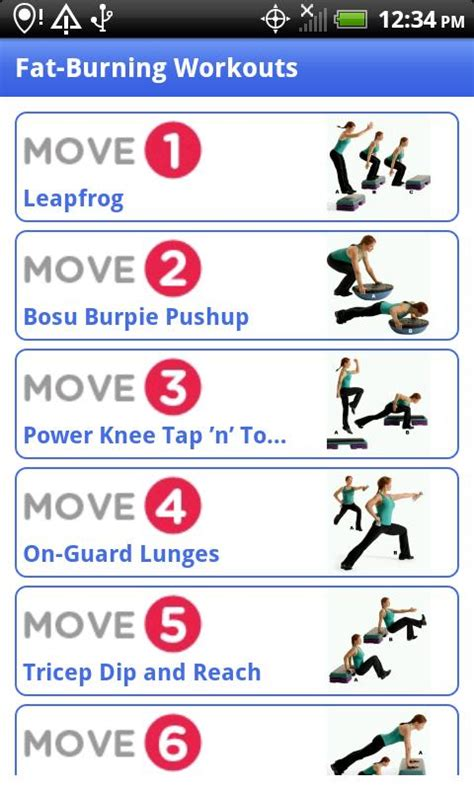 Fat burning exercise picture 13