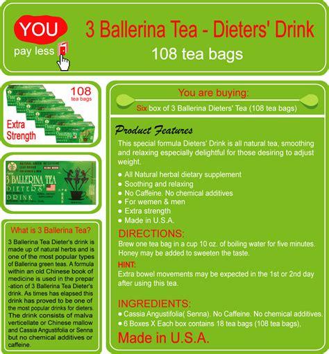 dieters herbal tabs 3 ballerinas picture 10