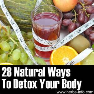 natural herbs or recipe to detox the body's picture 2