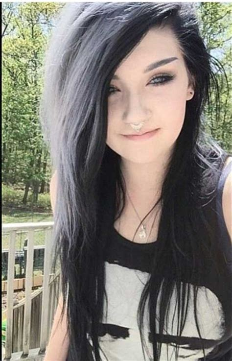 black hair styles and colors picture 6