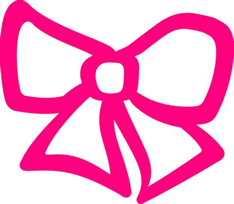 free hair ribbon clip art picture 2