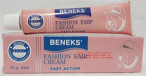 beneks fashion fair gel plus ingredients picture 12