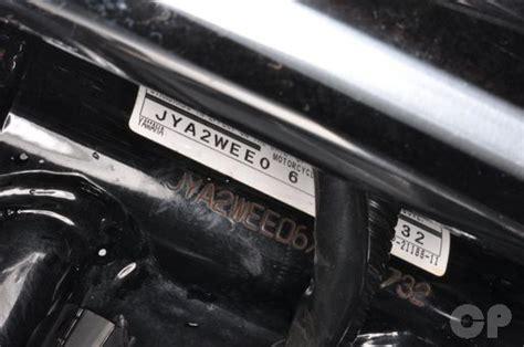 vmax oil change picture 15