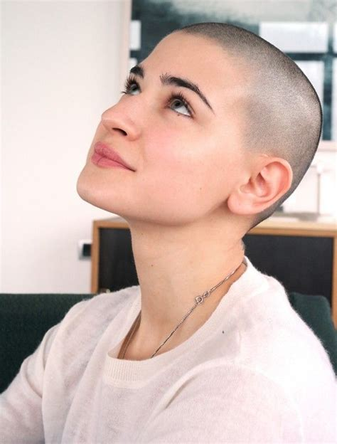 fulker shaved head women picture 7