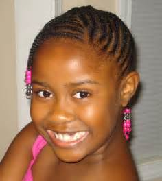 Black hair style for kids picture 2