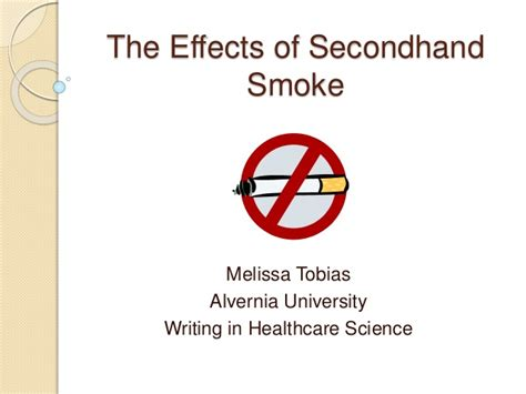 secondary smoke the effects and dangers of picture 1