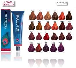 comparison color chart wella koleston picture 1