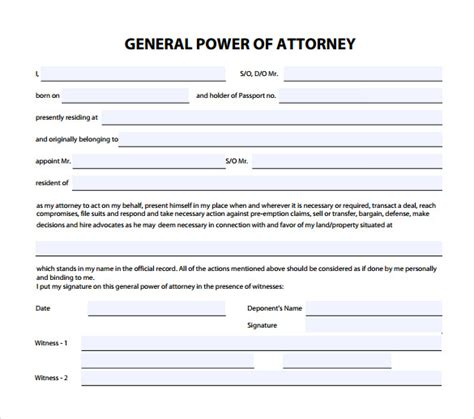 joint power of attorney form arizona picture 10