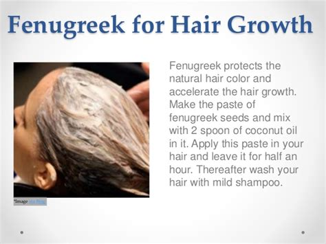 fenugreek hair growth picture 9