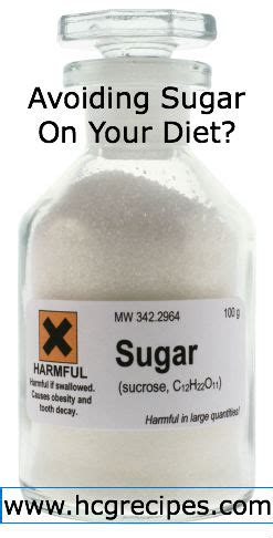 avoiding sugar in your diet picture 1