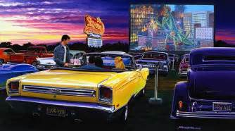 muscle car art picture 15