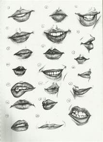 drawing lips picture 7
