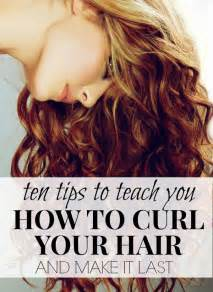 tips on curling hair picture 1