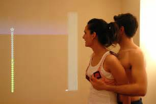 man touch wome breast in theater picture 7