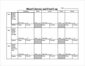 diabetic food diary sample picture 13