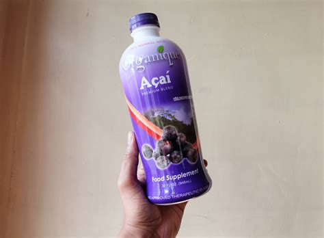 how much is organique acai in mercury drug picture 1