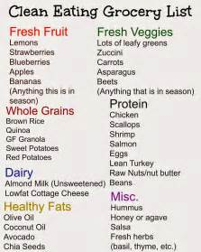 weight loss grocery list picture 17