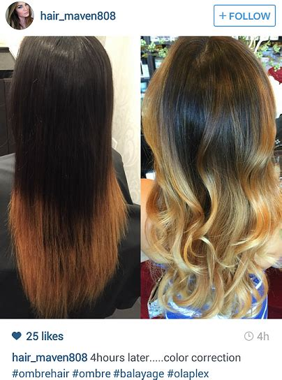 olaplex before and after on damaged hair picture 5