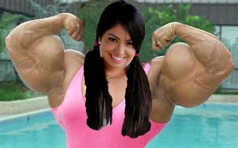 female muscle morphs picture 1