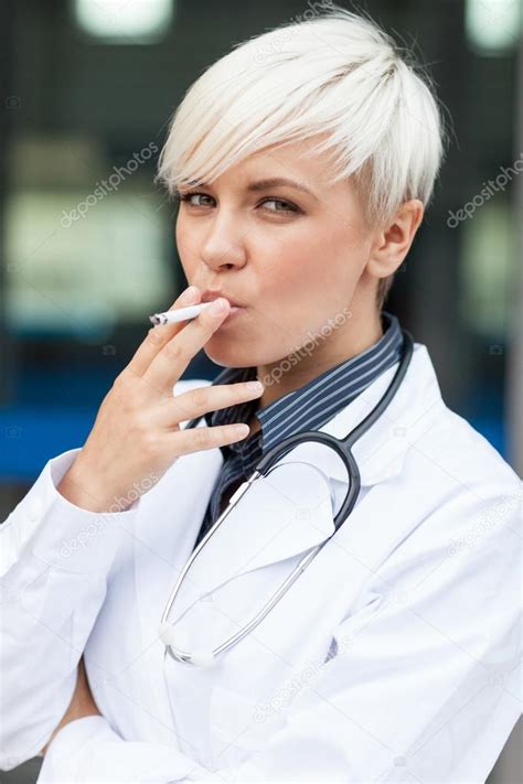 female doctors that smoke picture 1