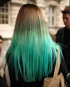 color hair green picture 1