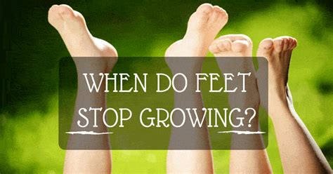 stop growing feet picture 1