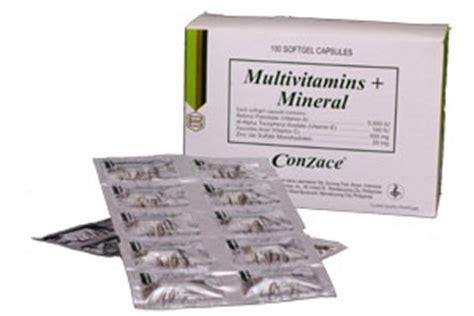 conzace multivitamins price picture 1