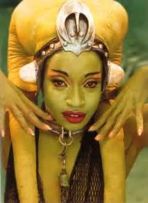 jabba green skin dancer picture 15