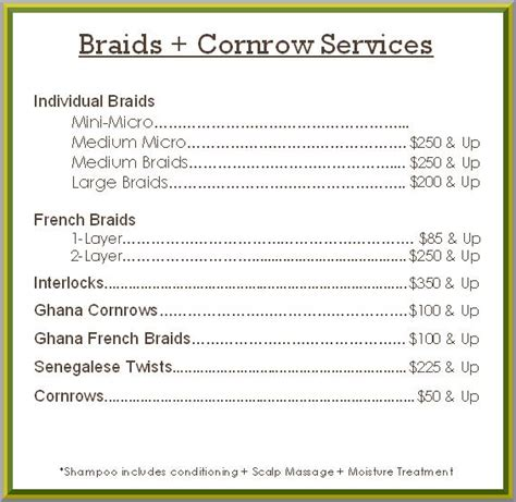 cost and time of hair braidinf picture 9
